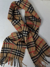 Load image into Gallery viewer, Women's BURBERRY Cashmere Scarf