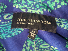 Load image into Gallery viewer, Jones New York Signature Teardrop Blouse M