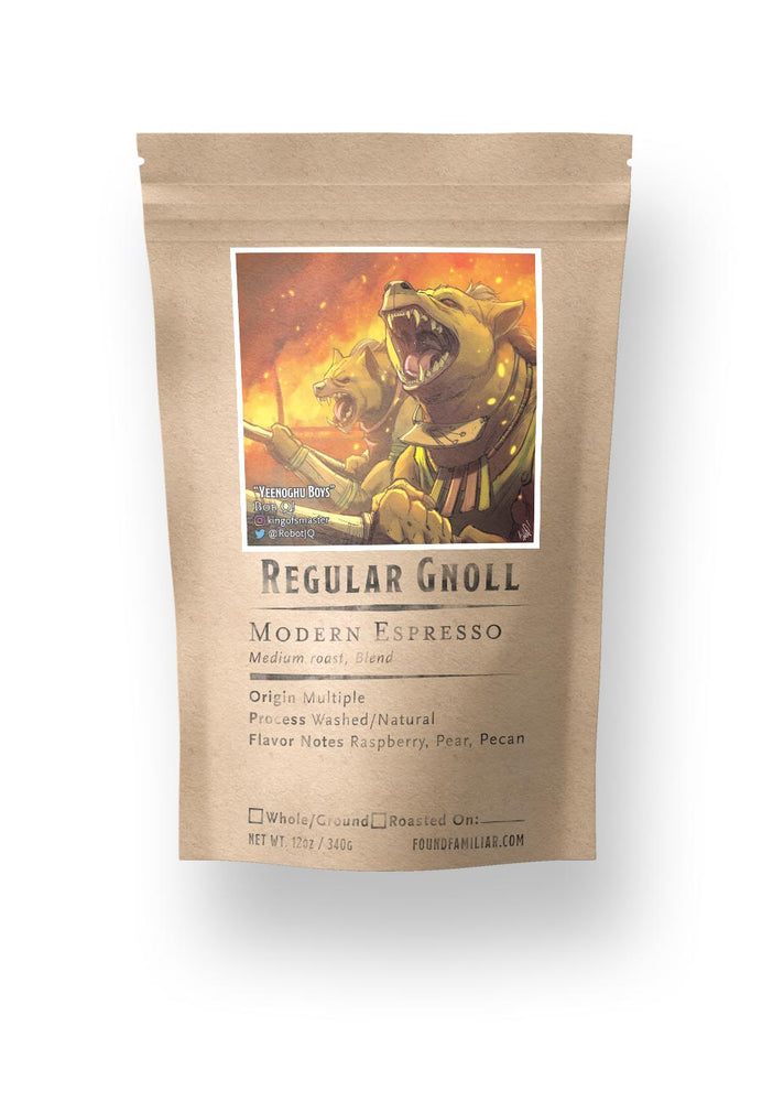 Load image into Gallery viewer, Regular Gnoll | Modern Espresso