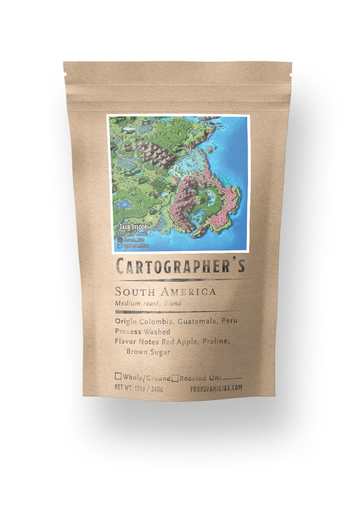 Cartographer's - Deven Rue's South America Blend