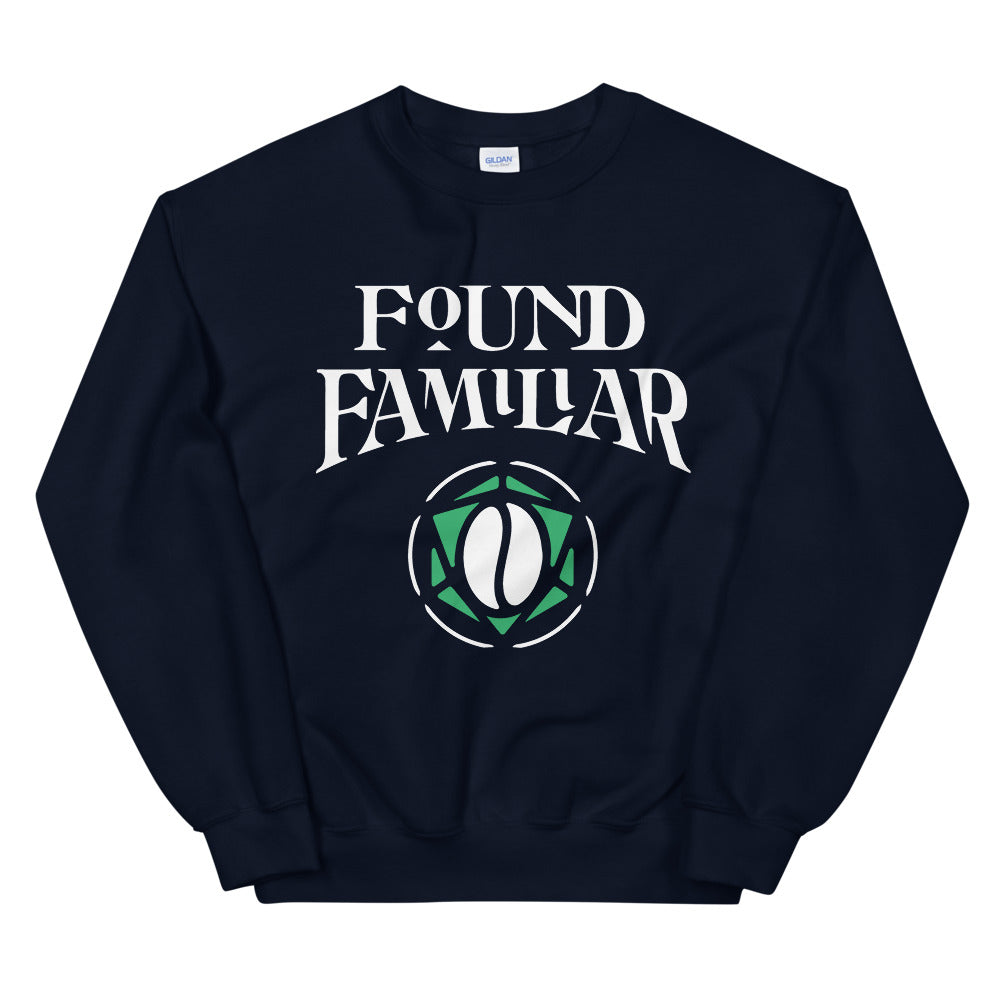 "Load image into Gallery viewer, ""Found Familiar"" Sweatshirt"