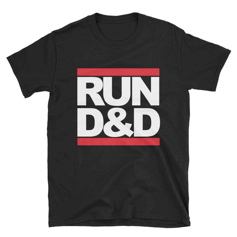 """Run D&D"" Unisex Tee - - Found Familiar"