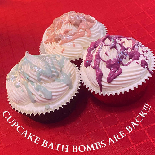 Pure Skin Cupcake Bath Bombs