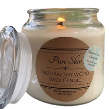 Load image into Gallery viewer, Pure Skin Natural Soy Wood Wick Candle