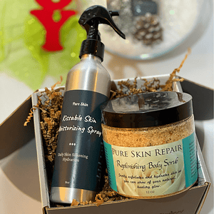 Pure Skin Moisturizing Body Kit Winter Collection: Winter Skin and Hair Care Kit