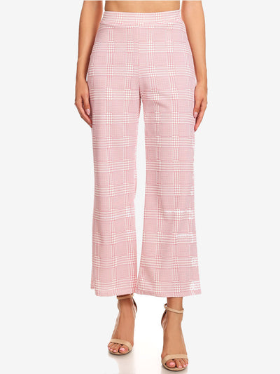 Pink High Waisted Pants for Women | Blissfully