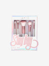 slay, makeup, makeup brush, rose gold brush set, brush set, makeup brush kit, slay day makeup, beauty, women's beauty make up sets, best make up brush sets, cute make up brush set, 5 make up brushes kits