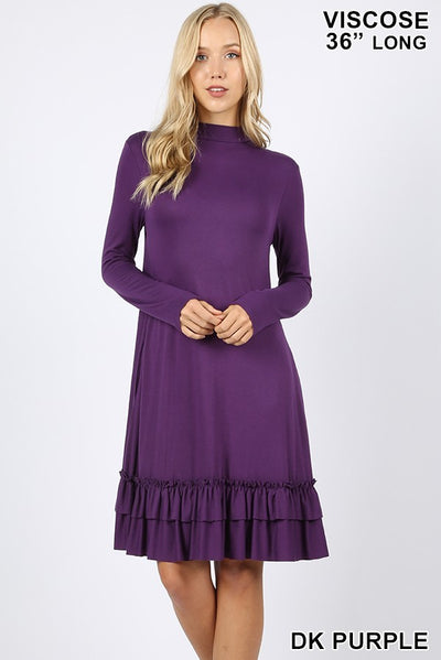 womens casual dresses, mock neck chiffon dress, mock neck party dress, womens dresses, long sleeve dresses for women, womens long sleeve midi dress, long sleeve cocktail dresses, autumn dresses with sleeves, long sleeve dress casual fall, buy fall dresses, best dresses for fall, best dresses for winter, winter dresses, shop winter dresses, women's fall print dresses, shop cute dresses