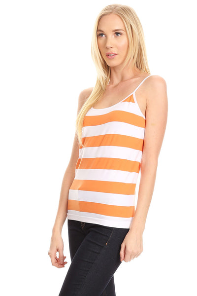 Stripped Sleeves Camisole