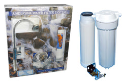 Fluoride and chlorine removal system