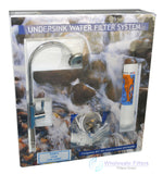 Town Water Undebench  filter system installation Kit