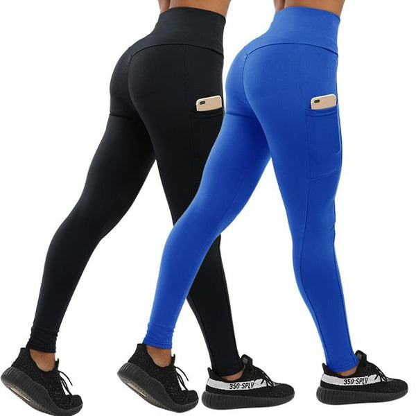 Fashion Push Up Fitness Leggings with Pockets
