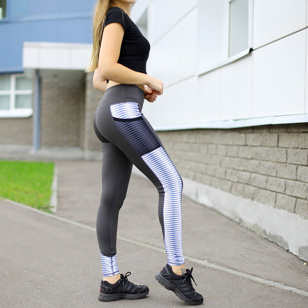 Workout Printed Legging with Pockets