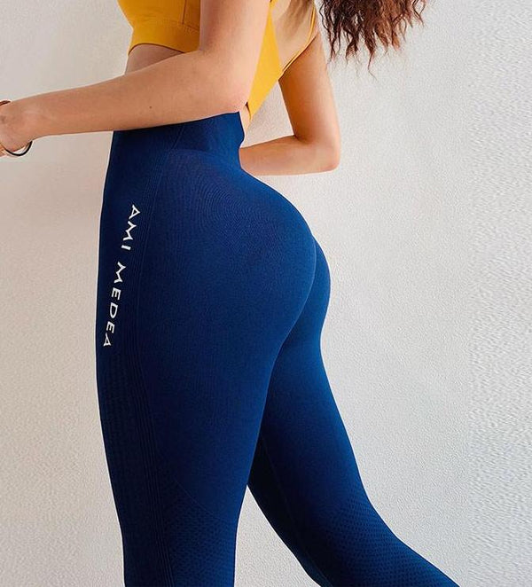 Ami Solid Ombre Energy Seamless Leggings for Women