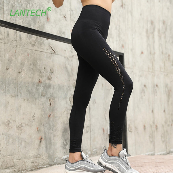 Line Art Compression Seamless Leggings