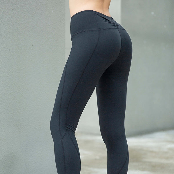 Patchwork High Waist Energy Seamless Leggings for Women