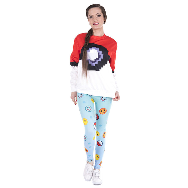 Fun Emojis Printed Legging Pant