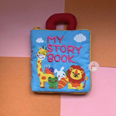 My Story Book Animals 3D Baby Cloth Book