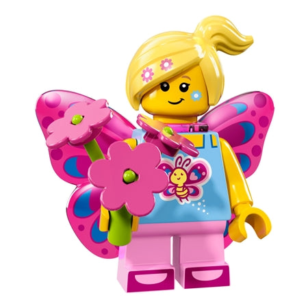 Lego Minifigures Series 17 - Butterfly Girl
