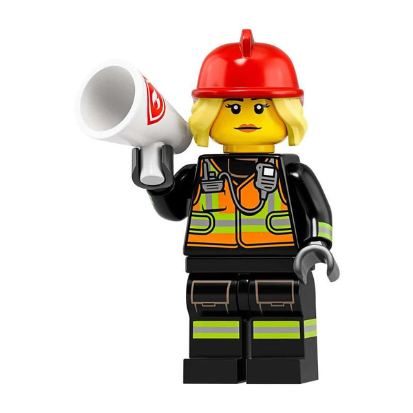 Lego Minifigures Series 19 - Fire Fighter