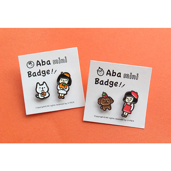 Aba Girl [Orange Cat] Pin By U-Pick