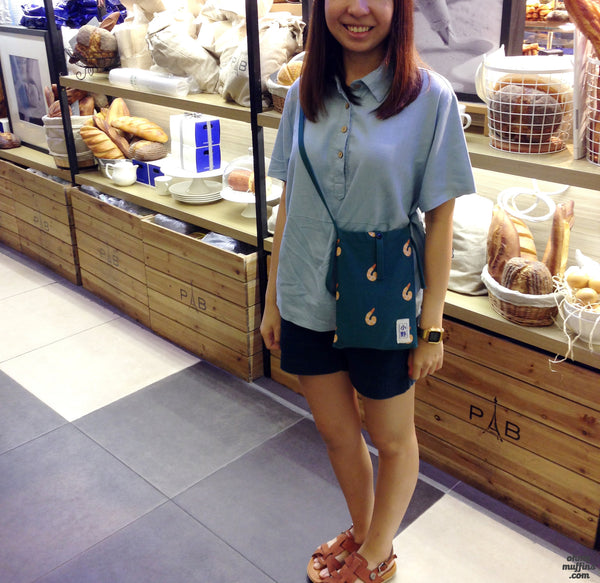 Fun Food Sling Bag by 小野 (Xao Ye)  - OUT OF PRODUCTION