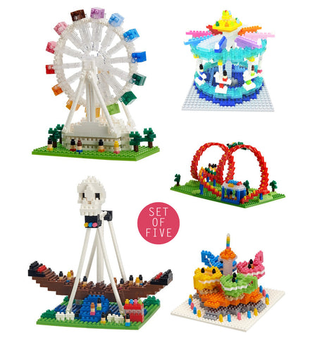TICO The Amusement Park - Set of 5