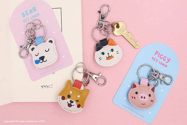 Animal [Cat] Key Chain By U-Pick