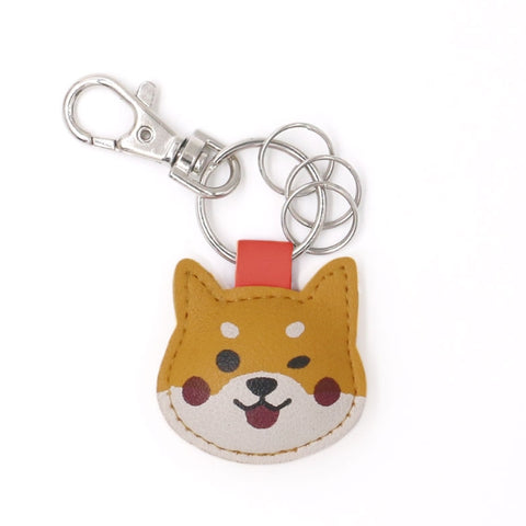 Animal Shiba Key Chain By U-Pick