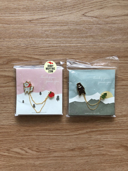 Animal Enamel Pin By U-Pick