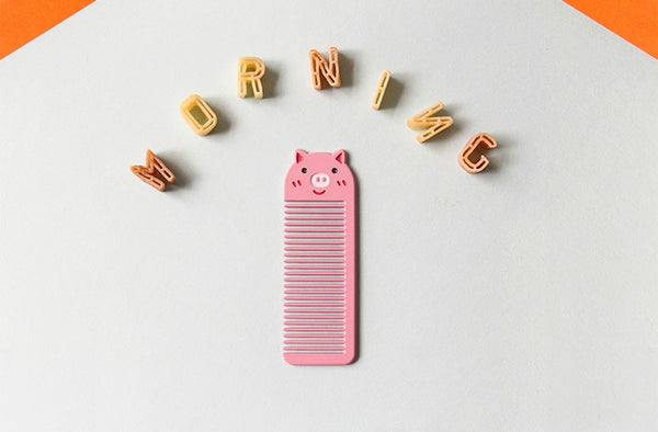 Small Pocket Animal Pig Comb By U-Pick