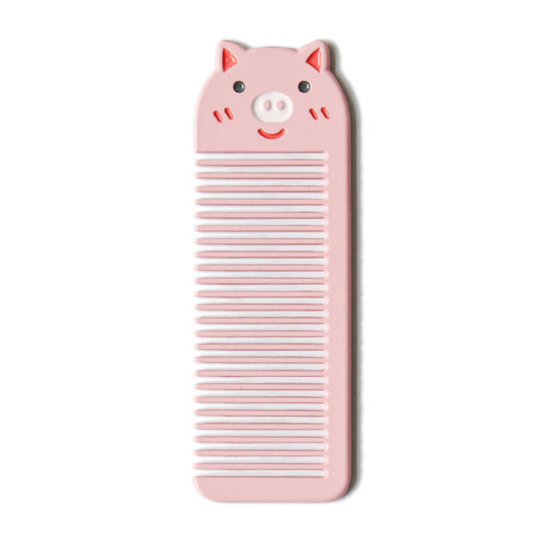 Small Pocket [Pig] Animal Comb By U-Pick