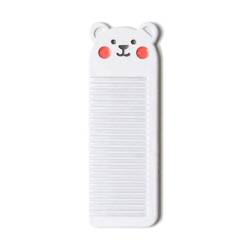 Small Pocket [Polar Bear] Animal Comb By U-Pick
