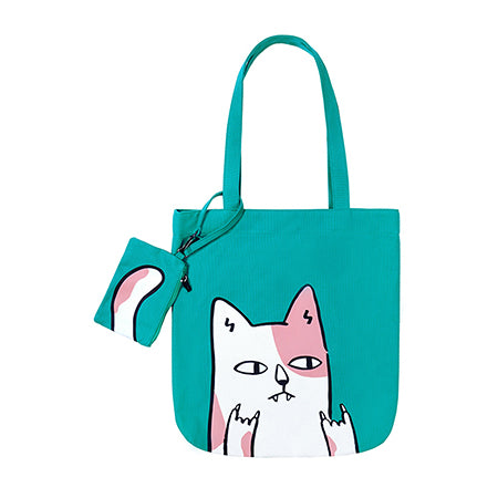 Swag Animal Cat Tote Bag By 小野 Xaoye