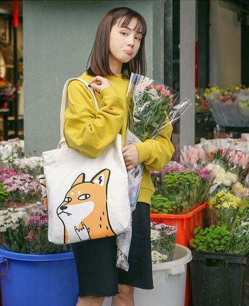 Swag Animal [Fox] Tote Bag By 小野 Xaoye
