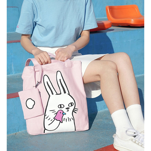 Swag Animal [Rabbit] Tote Bag By 小野 Xaoye