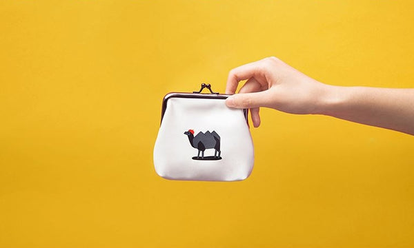 Ball Clasp Camel Coin Purse By YIZI STORE