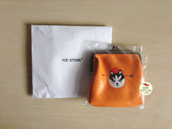 Ball Clasp Wolf Coin Purse By YIZI STORE