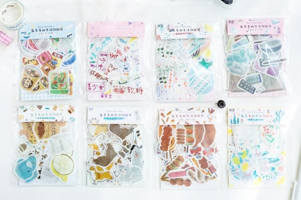 Beautiful Life [Food On Sticks] Deco Stickers Pack