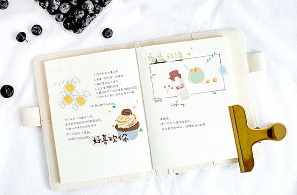 Beautiful Life Food Deco Stickers Pack