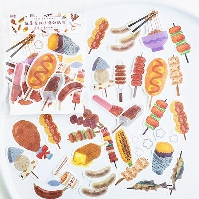 Beautiful Life Food On Sticks Deco Stickers Pack