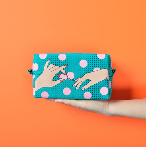 Beauty [Red Lips] Box Pouch by Kiitos Life