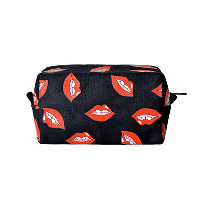 Beauty Red Lips Box Pouch by Kiitos Life