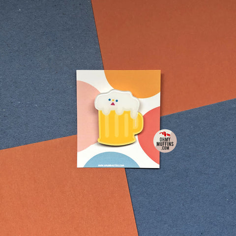 Cute Food [Beer] Pin
