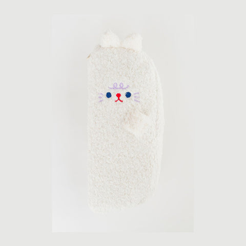 Bobo [White Cat] Pencil Case By Milkjoy