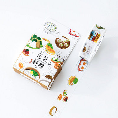 Breakfast Cuisine Washi Tape
