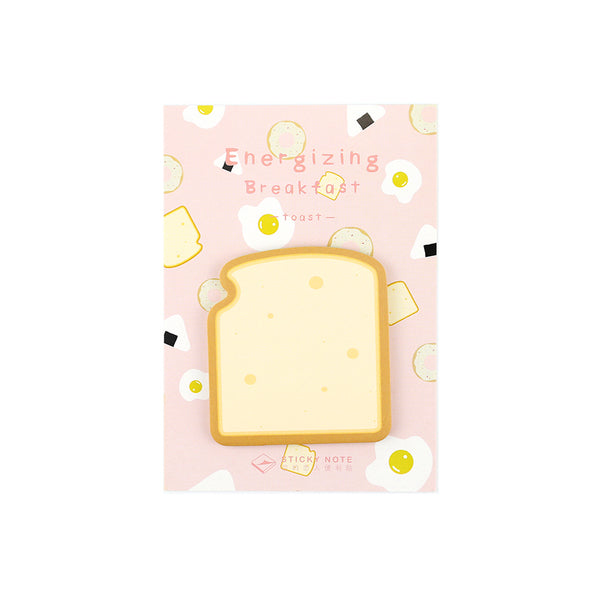 Breakfast Food Toast Sticky Notes