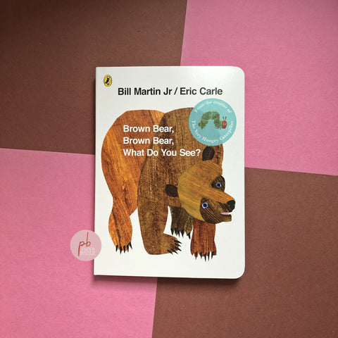 Brown Bear, Brown Bear, What Do You See? By Bill Martin Jr / Eric Carle [ English Board Book ]