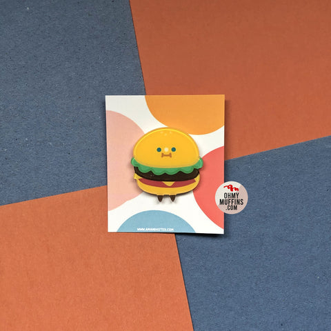 Cute Food [Burger] Pin