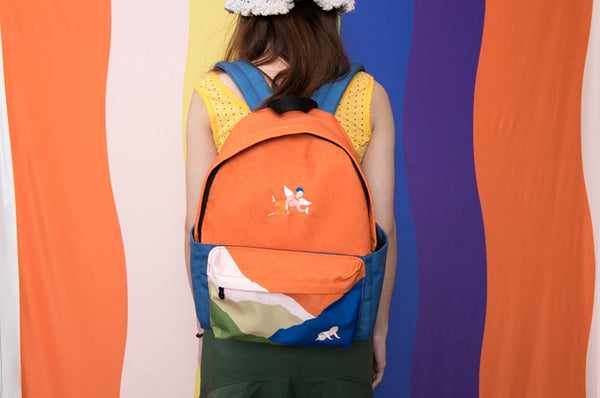 Busy Life Angel Backpack By YIZI
